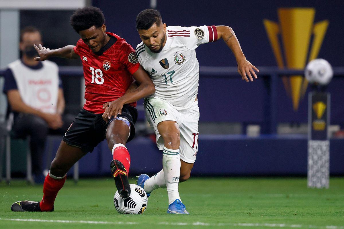 México tuvo 30 remates en el partido vs. Trinidad y Tobago