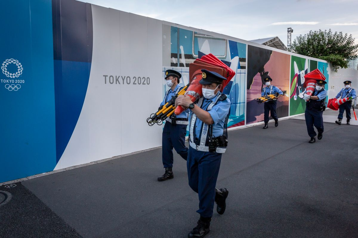 La organización ha informado 55 casos de Covid-19 relacionados a los Juegos Olímpico.