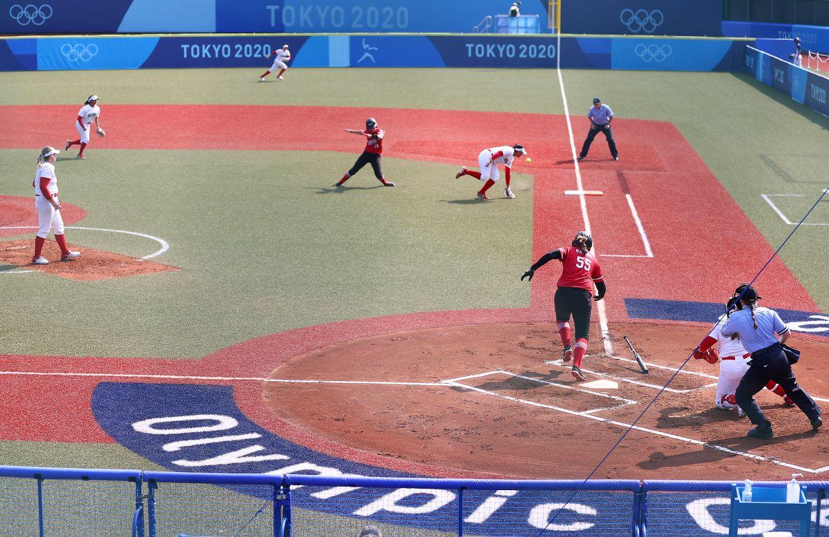 México empezó con mal pie en los Juegos Olímpicos: Selección de softbol fue blanqueada por Canadá