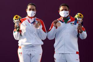 México ganó su primera medalla en Tokio 2020: Alejandra Valencia y Luis Álvarez se colgaron el bronce en tiro con arco