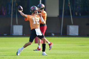 NFL: La increíble precisión de Tom Brady en la pretemporada
