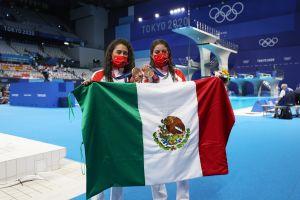 México de talla mundial: Alejandra Orozco y Gabriela Agúndez consiguen la segunda medalla azteca en Tokio 2020