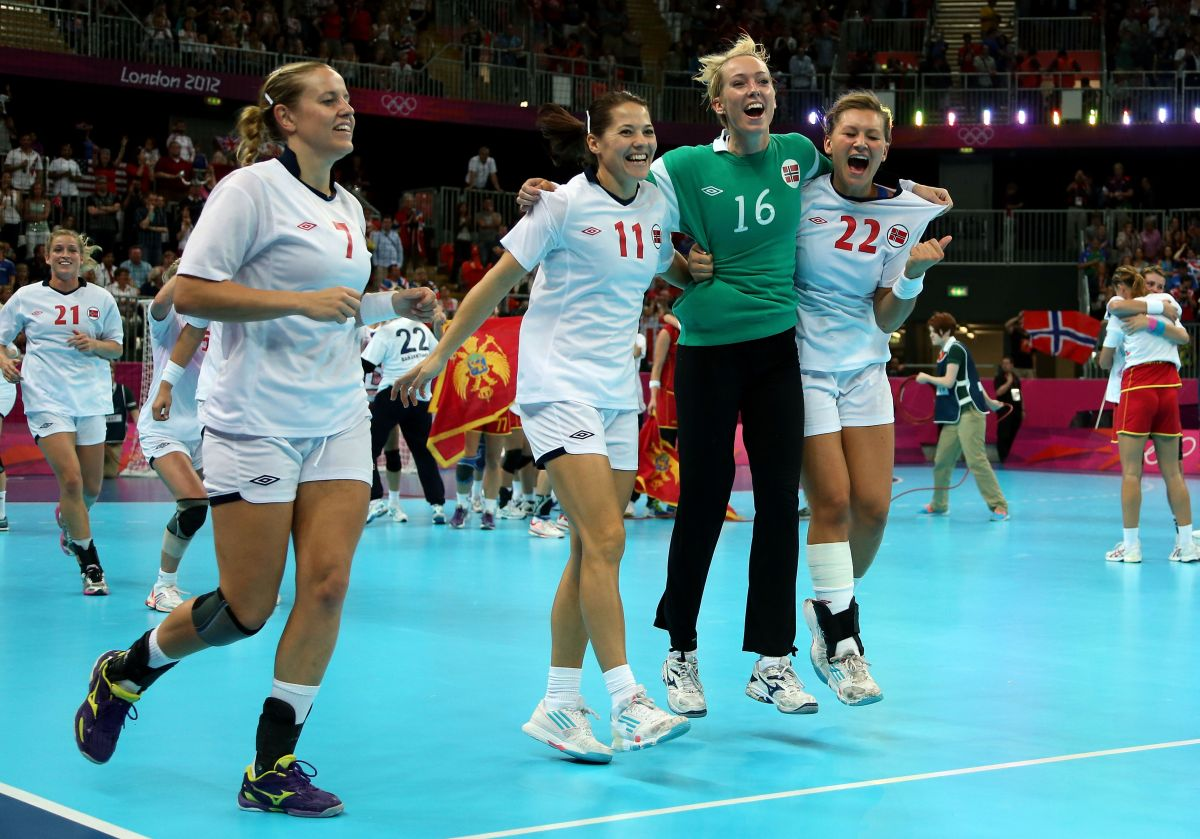 Selección Noruega de balonmano.