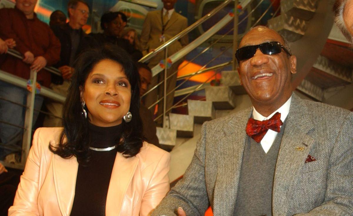Phylicia Rashad y Bill Cosby.