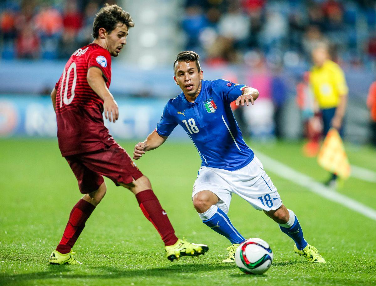 El mediocampista representó a Italia en las categorías Sub-20 y Sub-21.
