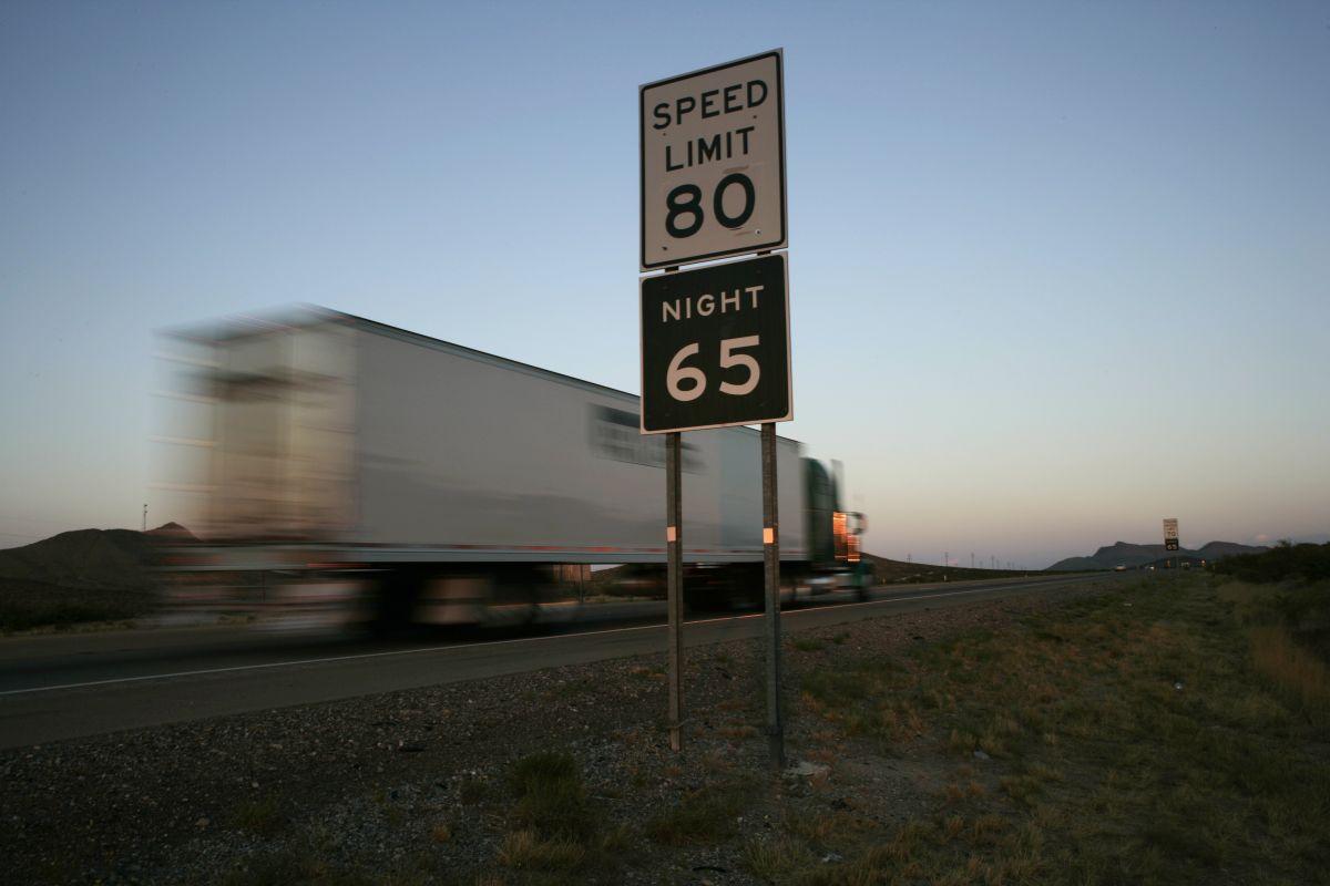 El terrible accidente ocurrió en la I-10 en el desierto de Arizona. Foto de archivo.