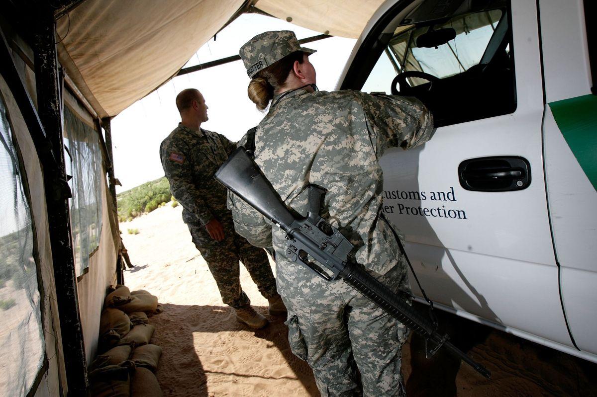Se estima que hay cerca de 3,000 elementos de la Guardia Nacional apoyando en la vigilancia de la frontera con México.