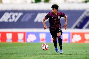 Mexicano azulón: José Juan Macías jugó su primer partido con la camiseta del Getafe