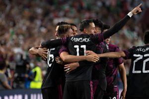 Rogelio Funes Mori tarda 3 minutos y medio para anotar su primer gol con la selección mexicana