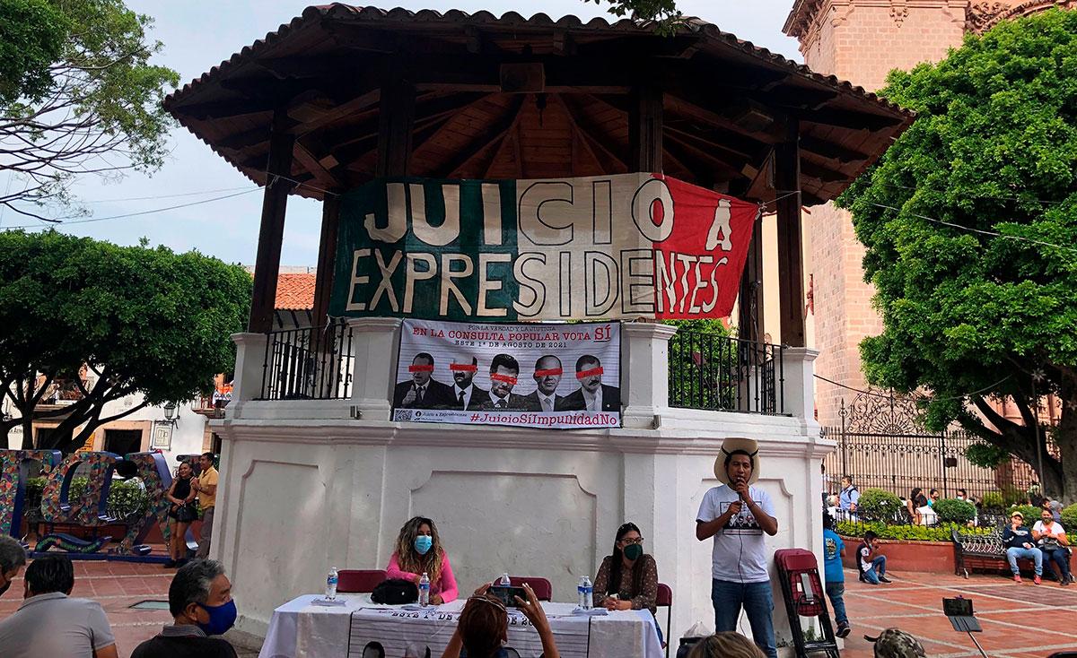 Ciudadanos mexicanos enjuiciar a expresidentes