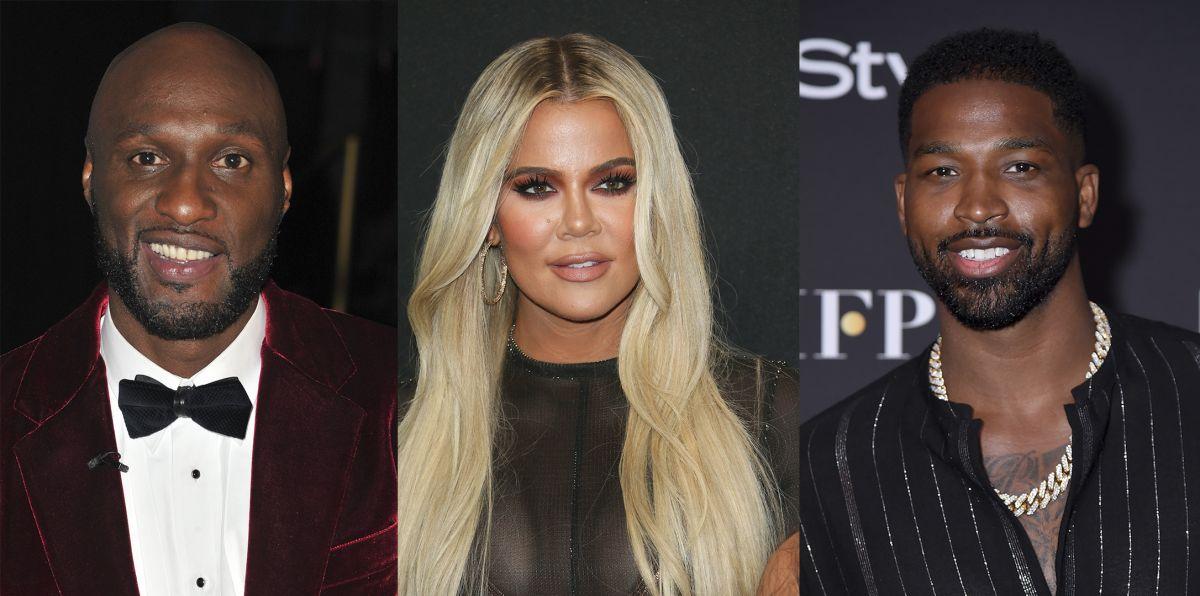 Lamar Odom, Khloé Kardashian y Tristan Thompson.