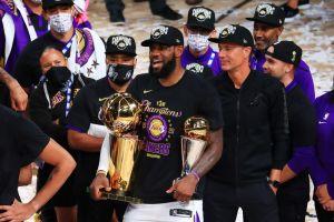 LeBron James ama a Los Ángeles: piensa retirarse en los Lakers