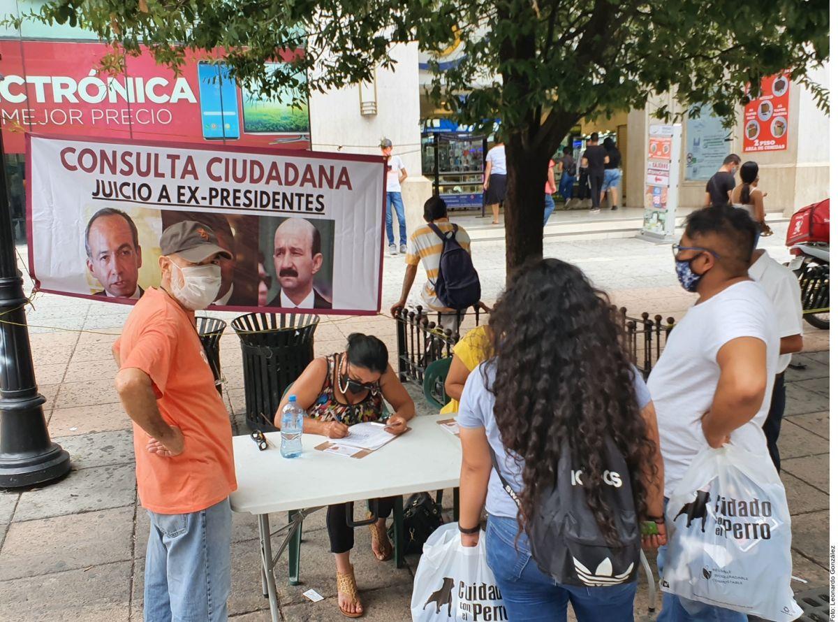 Consulta Popular para enjuiciar a expresidentes se realizará el 1 de agosto en México.