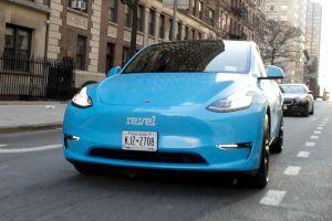 El Tesla Model Y se calza el traje de taxi en Nueva York
