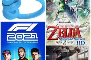 The Legend of Zelda Skyward Sword HD, F1 2021, Tony Hawk's Pro Skater Switch y Beats Solo Pro