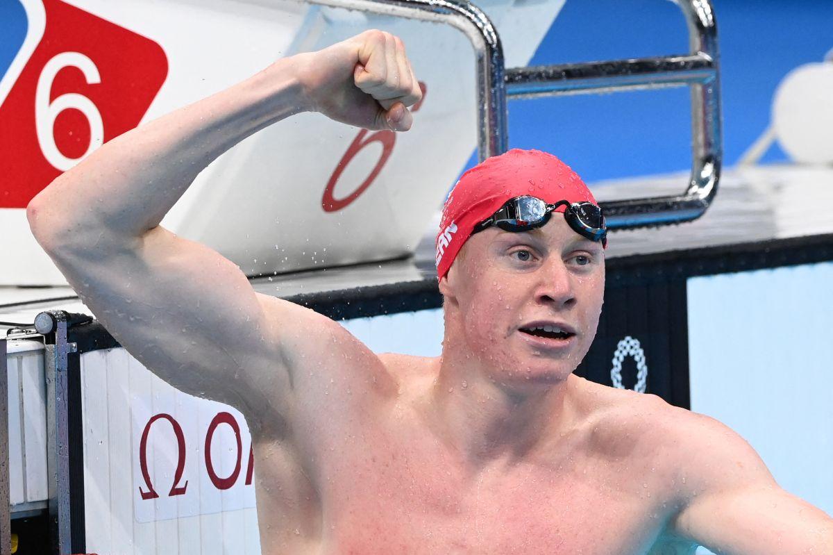 Tom Dean se convirtió en campeón olímpico con apenas 21 años.
