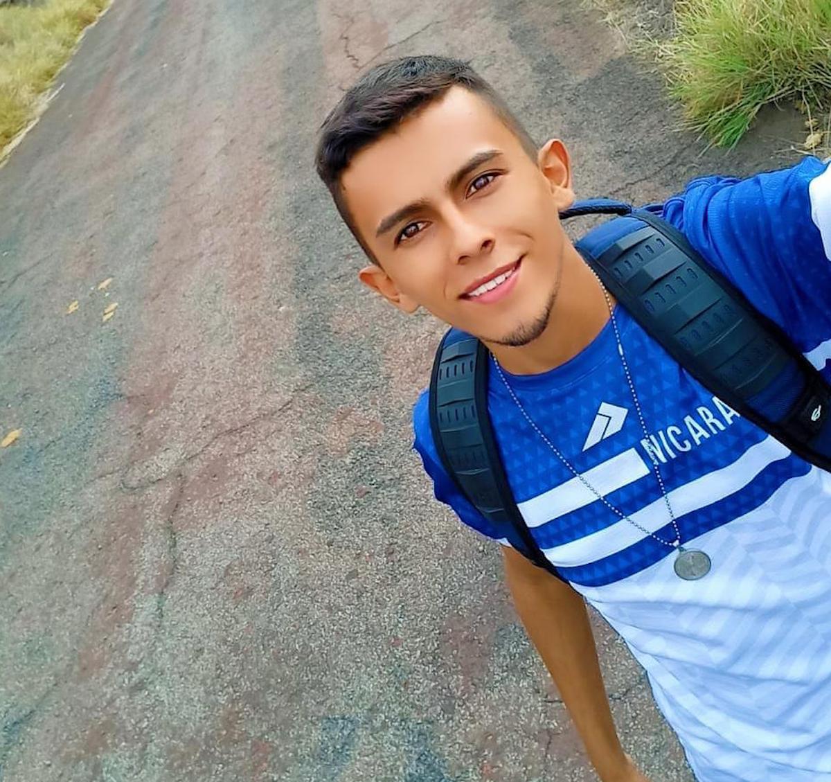 Erlinton Antonio Flores Ortiz busca asilo político por segunda vez en EE UU. (Cortesía)