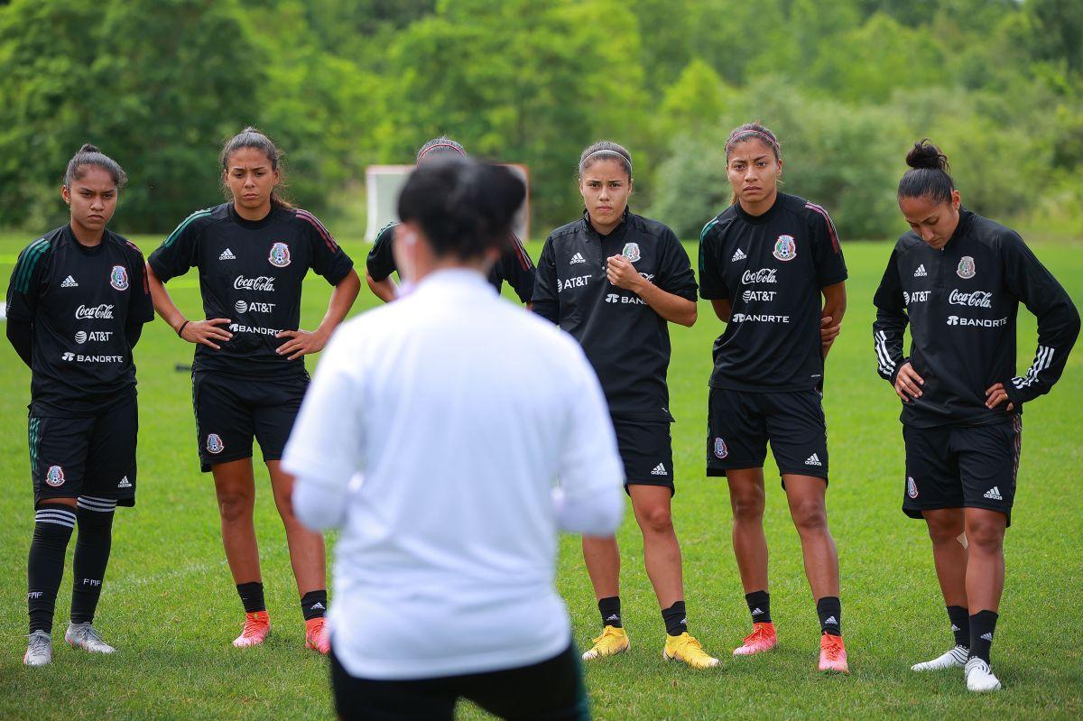 La selección de mayores femenina tendría un amistoso en México en septiembre.
