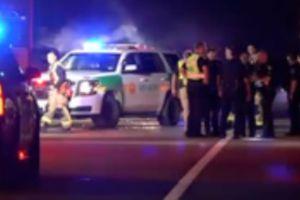 Conducía borracho y estrelló su vehículo con su esposa y ocho hijos; cuatro niños fueron trasladados al hospital en Houston