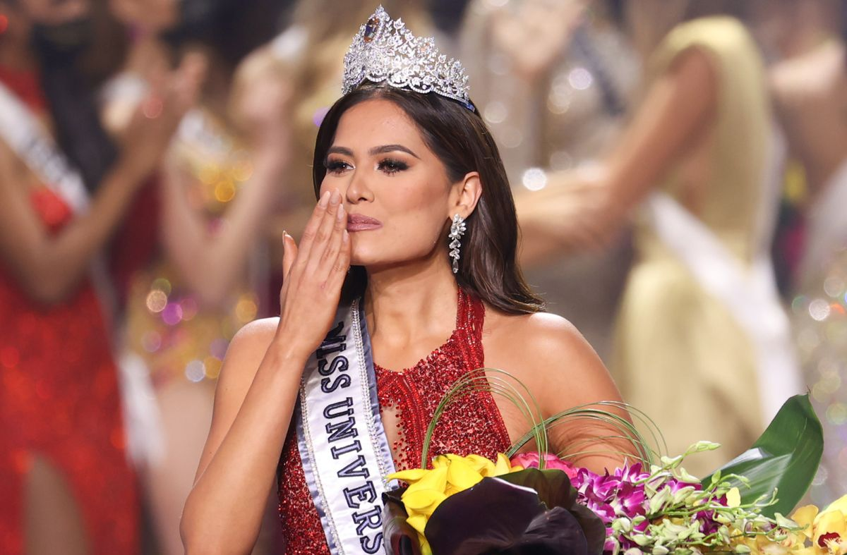 Andrea Meza, la Miss Universo 2020.
