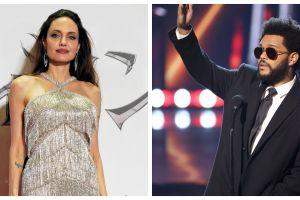 ¿Qué hay de cierto en los rumores de romance entre Angelina Jolie y The Weeknd?