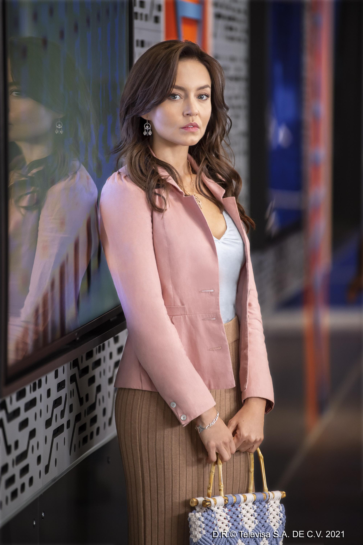 Angelique Boyer es Renata Sánchez Vidal en 'Vencer el Pasado'.
