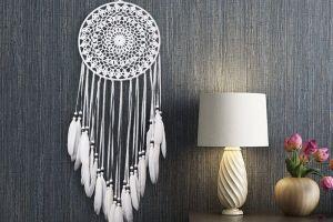 Atrapasueños de estilo boho para decorar tu hogar y hacer fluir las energías