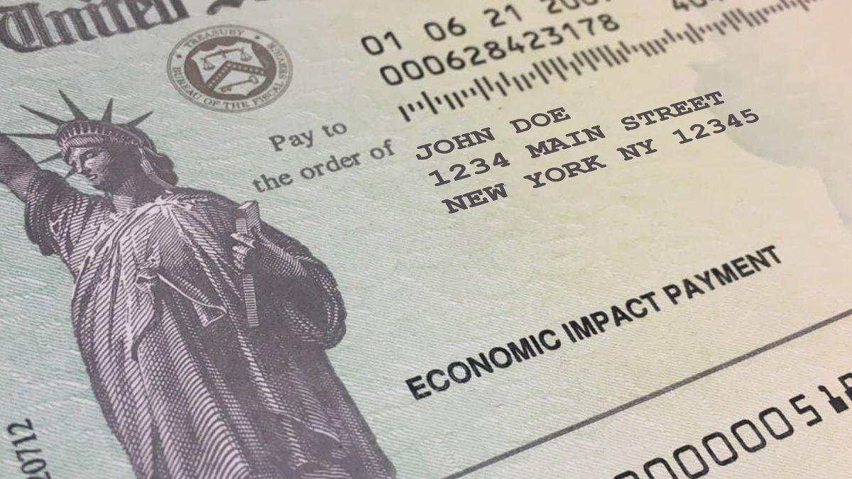 Cheque de estímulo: el IRS libera 2.2 millones de pagos correspondientes a la última ronda