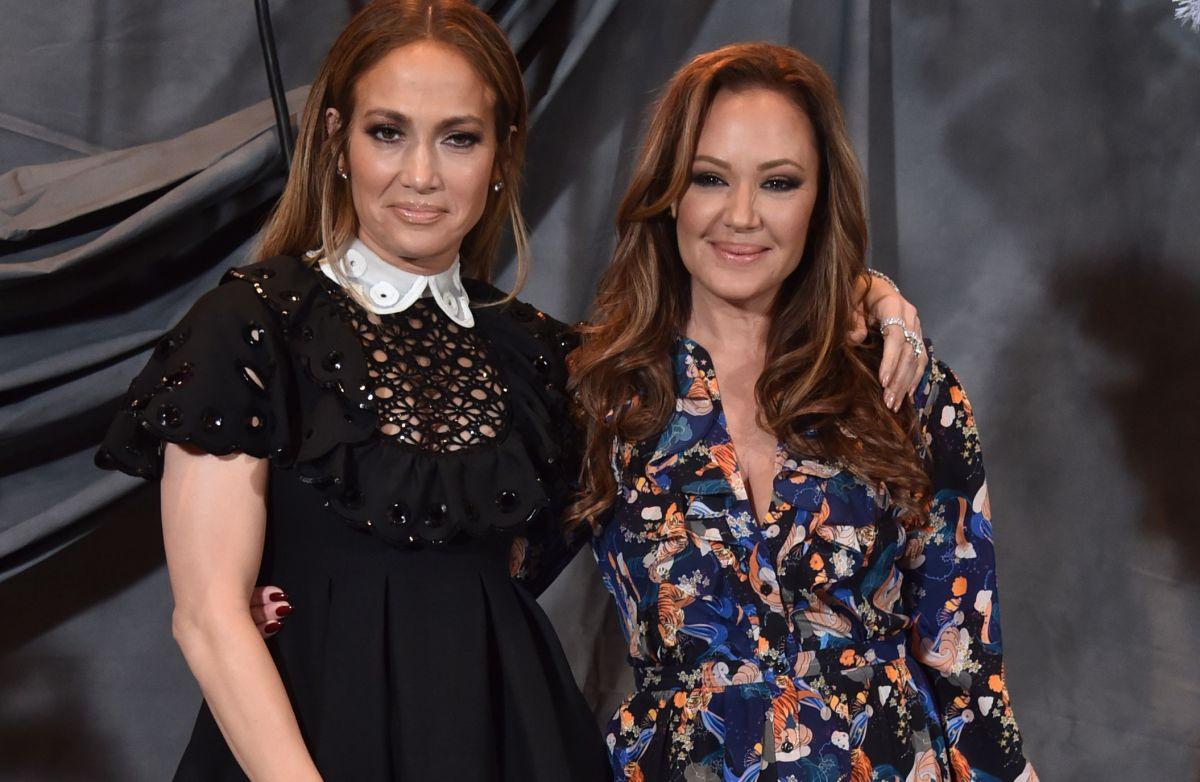 Jennifer Lopez y Leah Remini.