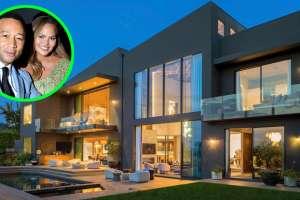 Así es la mansión que John Legend y Chrissy Teigen vendieron en Beverly Hills por $16.8 millones