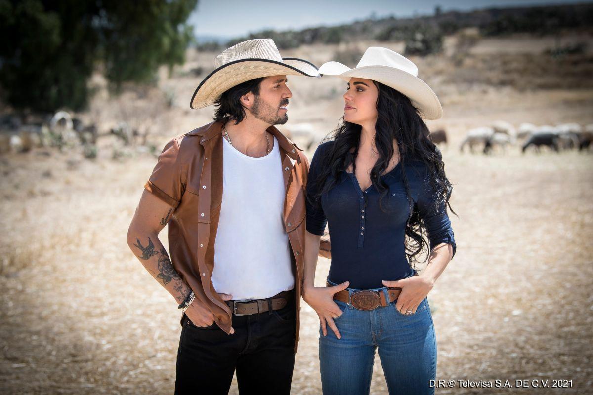 José Ron y Livia Brito protagonizan 'La Desalmada'. | Foto: Televisa