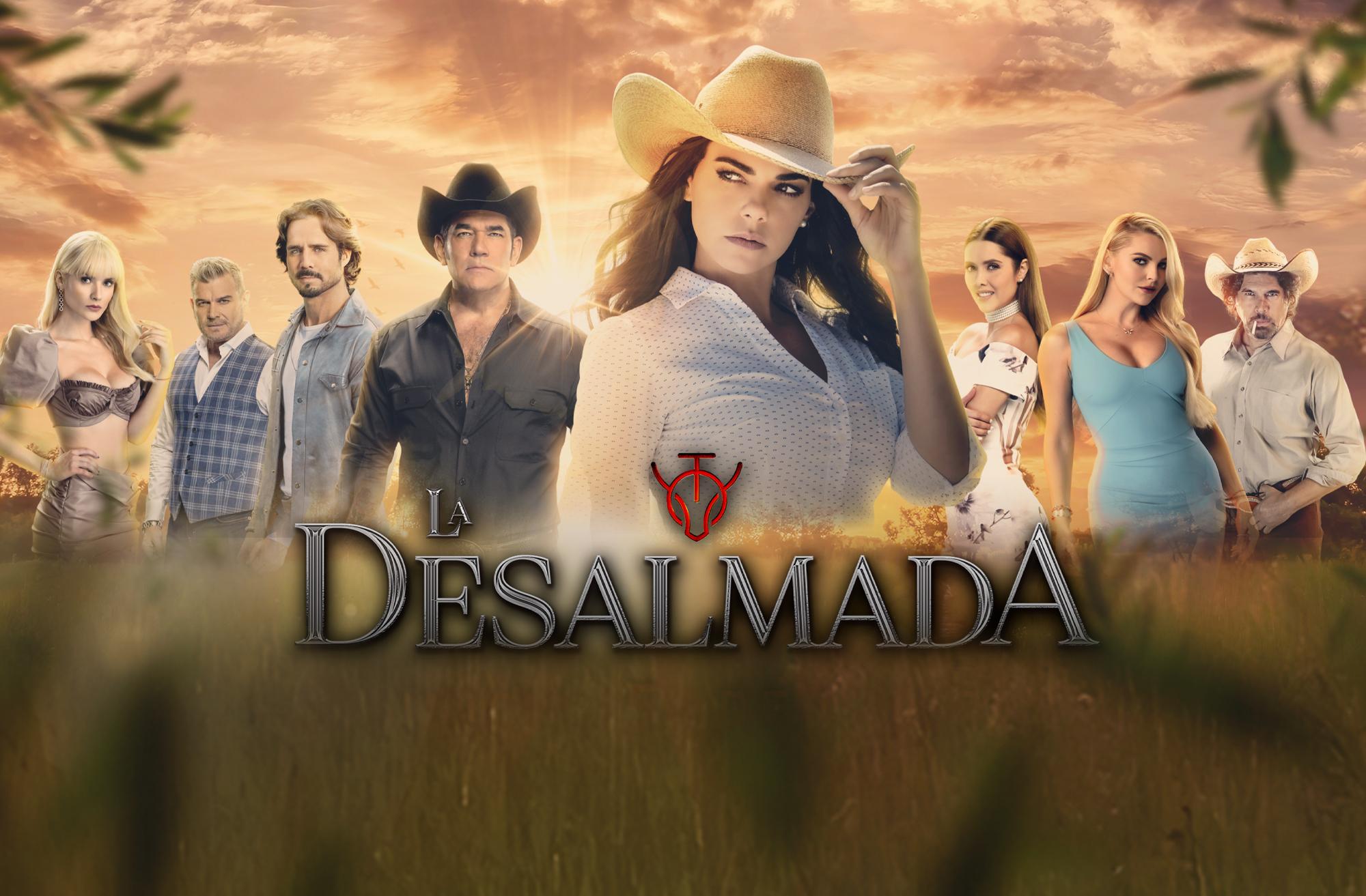 Livia Brito protagoniza 'La Desalmada' para Televisa y Univision