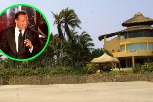 Video: Así luce desde las alturas la casa abandonada de Luis Miguel en Acapulco