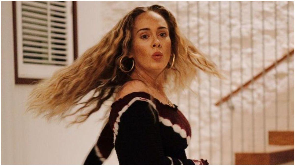 Adele está feliz estrenando su nueva mansión en Beverly Hills.