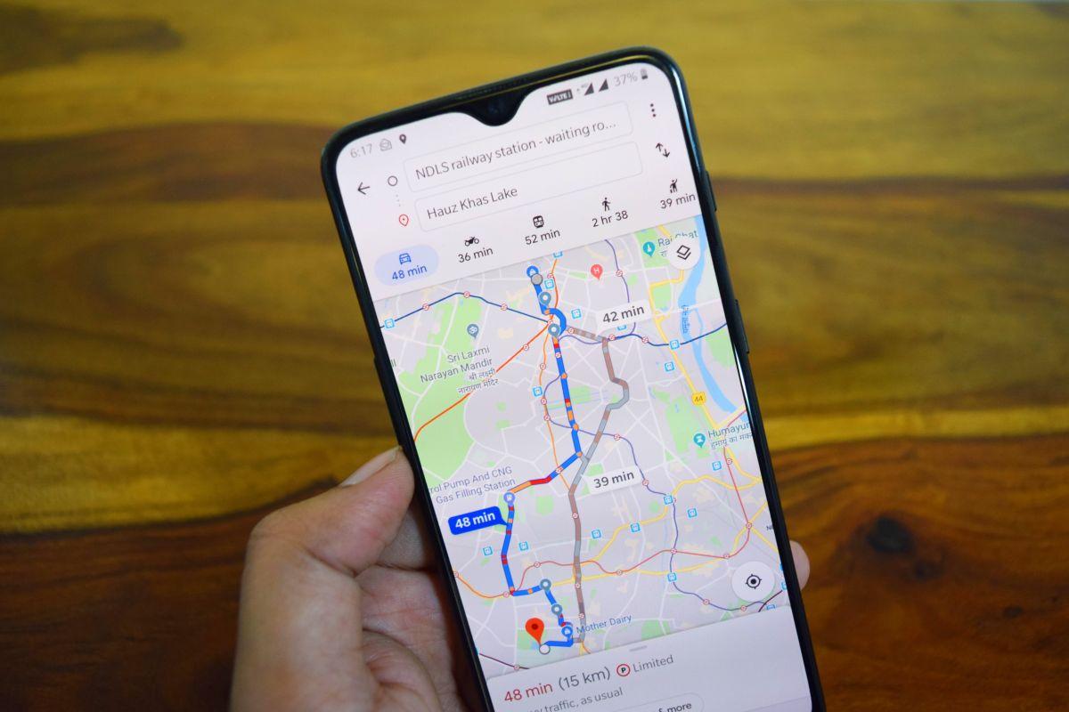 Google Maps puede ser de gran utilidad para ubicar el auto si no recordamos donde lo estacionamos.