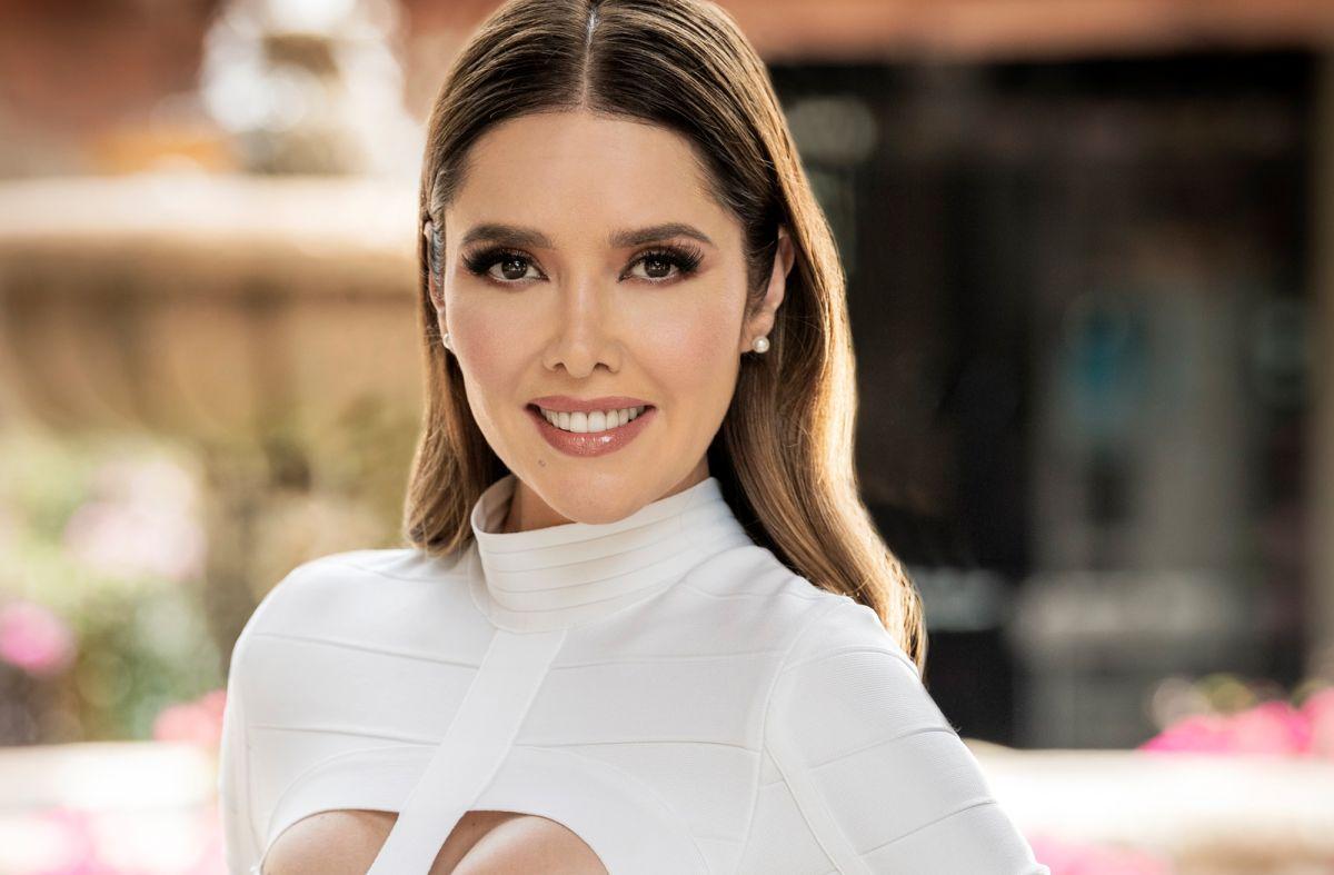 Marlene Favela es Leticia Lagos de Toscano en 'La Desalmada'.