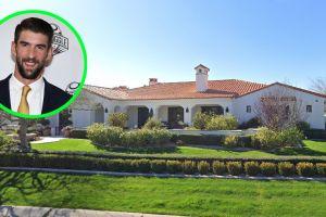 Conoce la mansión de la que se deshizo Michael Phelps tras retirarse de la natación