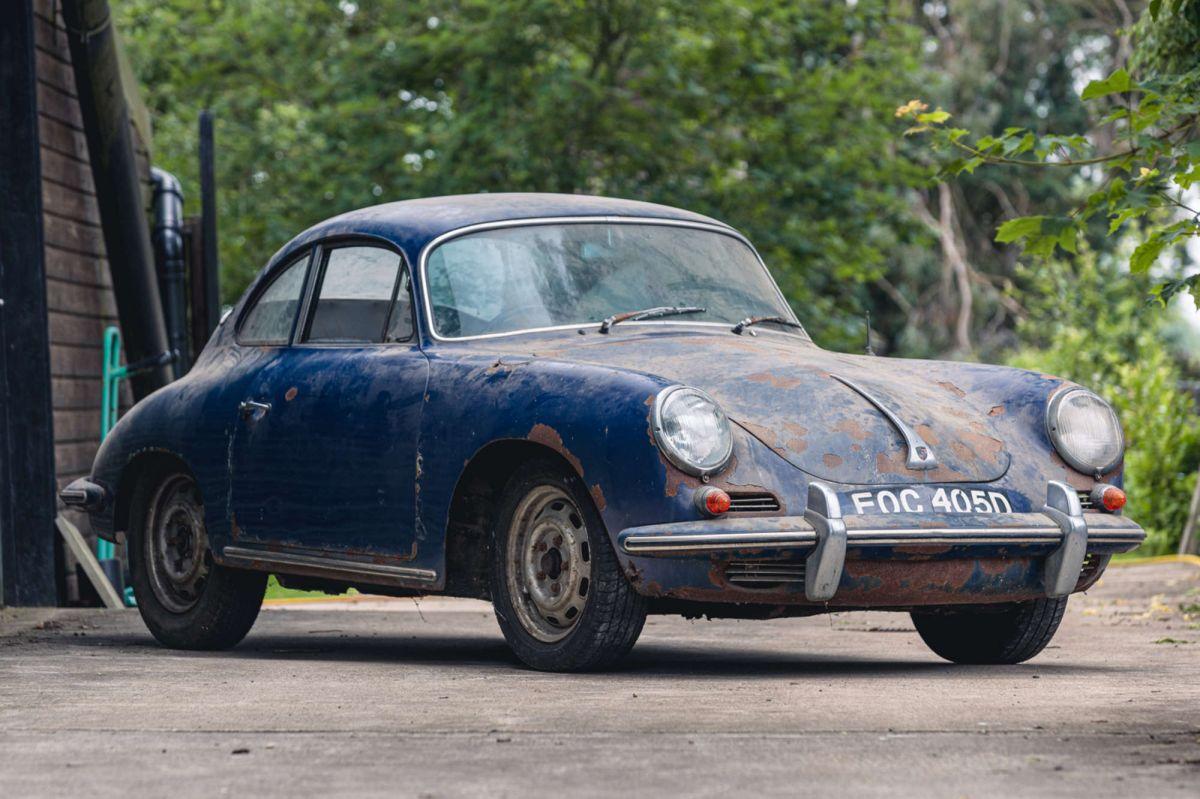 Este raro Porsche de 1965 fue hallado en un granero después de 44 años.