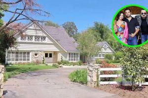 Así es la lujosa mansión donde Pepe y Ángela Aguilar tienen de vecina a Kim Kardashian