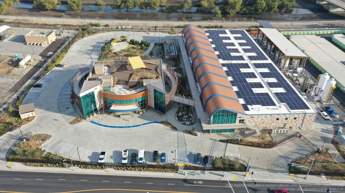 La instalación ARC está ubicada a lo largo de las orillas del río San Gabriel en la ciudad de Pico Rivera.