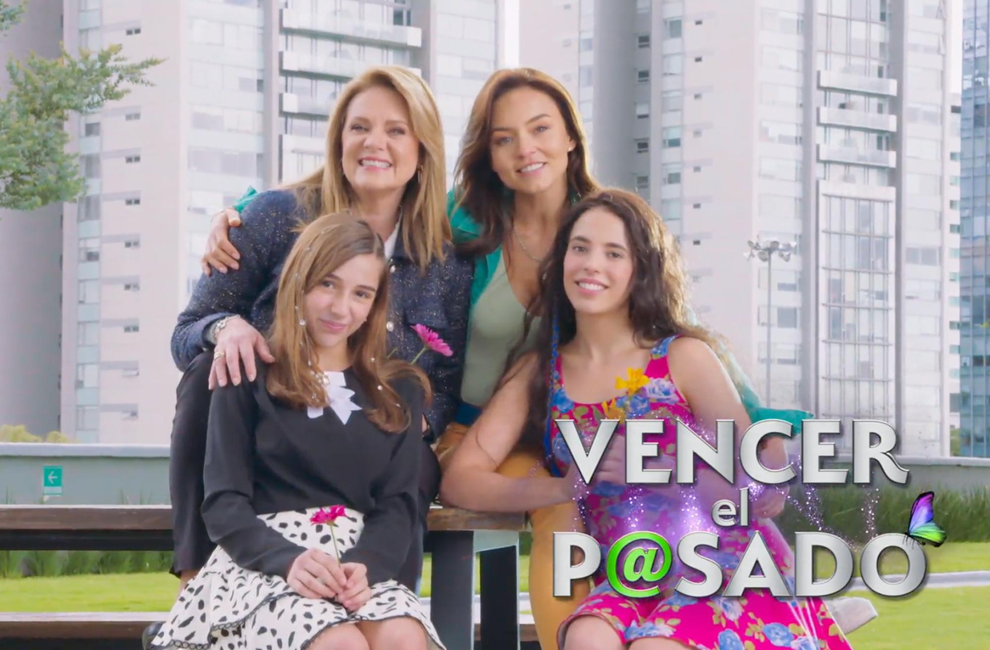 Angelique Boyer,Arantza Ruiz,Ana Paula Martínez yErika Buenfil protagonizan 'Vencer el Pasado'.