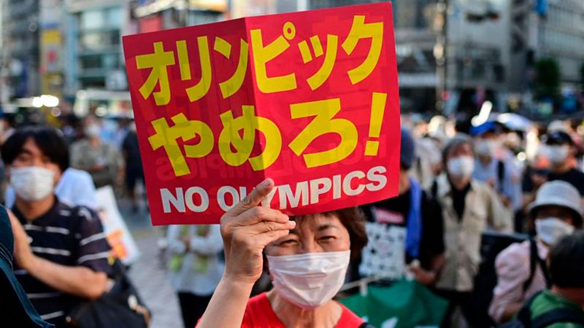 Dos tercios de la población japonesa se oponen a los Juegos Olímpicos en Tokio.