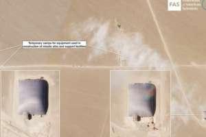 La preocupación en Estados Unidos por la construcción de nuevos depósitos de misiles nucleares en China