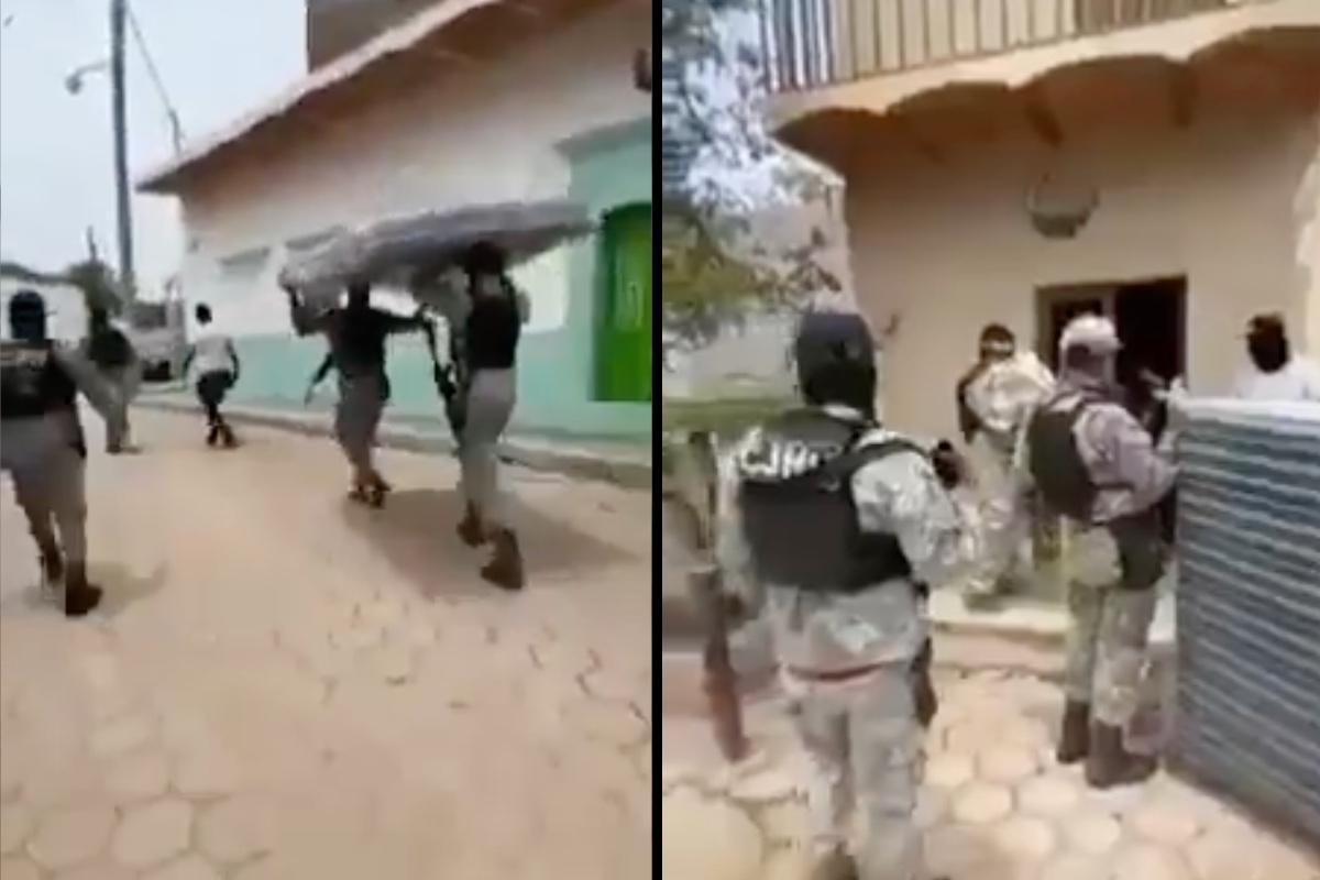 """""""Arriba papá Mencho"""", gritan sicarios del CJNG al intentar ganar simpatía de gente afectada por lluvias en México"""