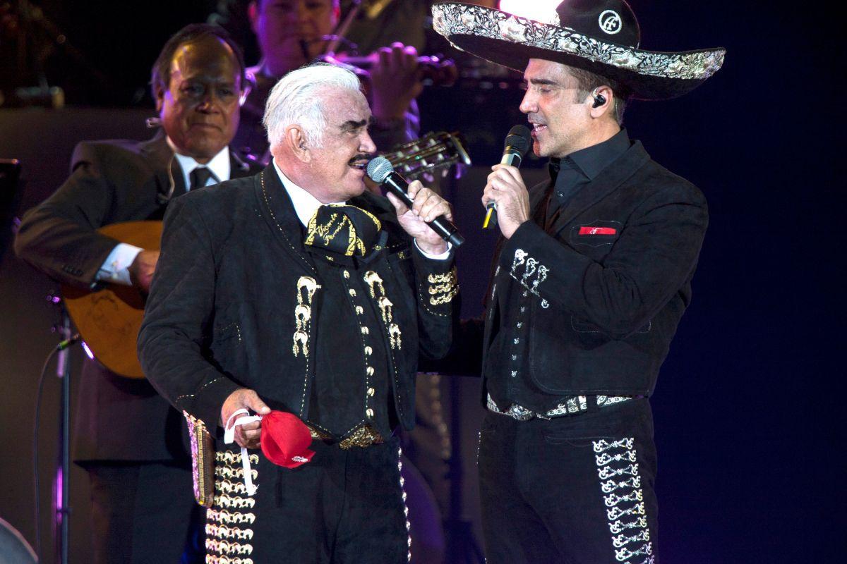 Vicente y Alejandro Fernández.