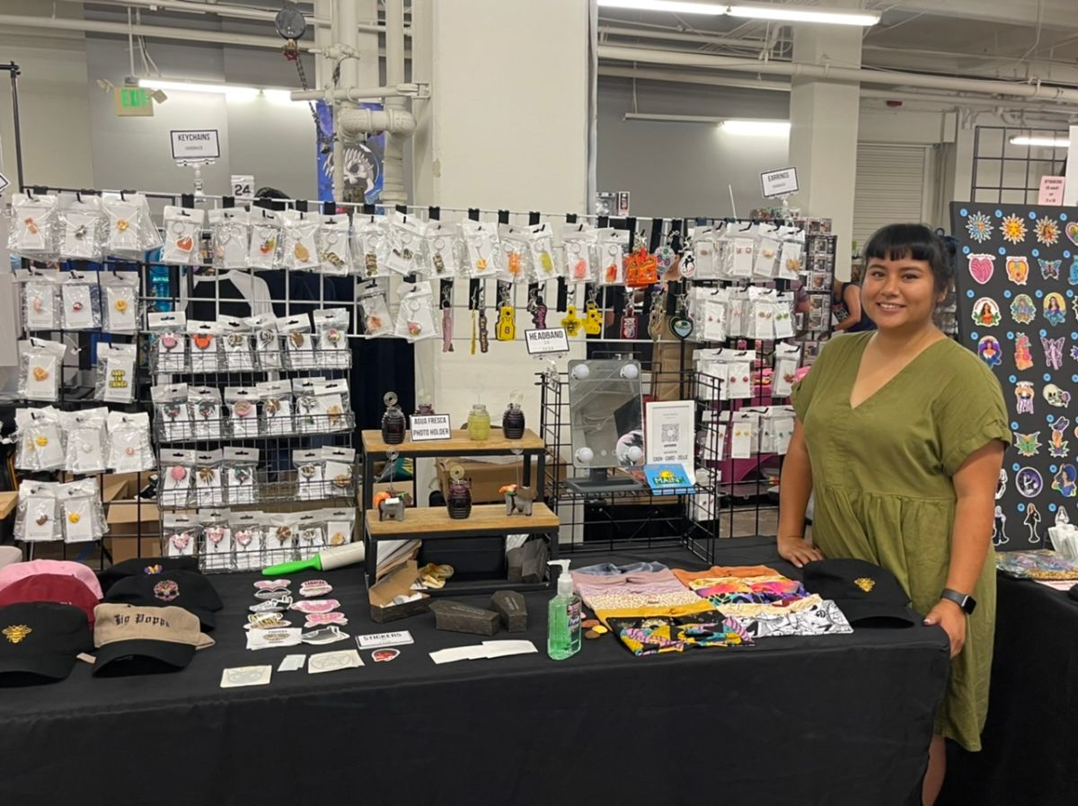 Sandra Ramírez, creadora del concepto de arte en miniatura Ahliyah Crafts. (Cortesía )