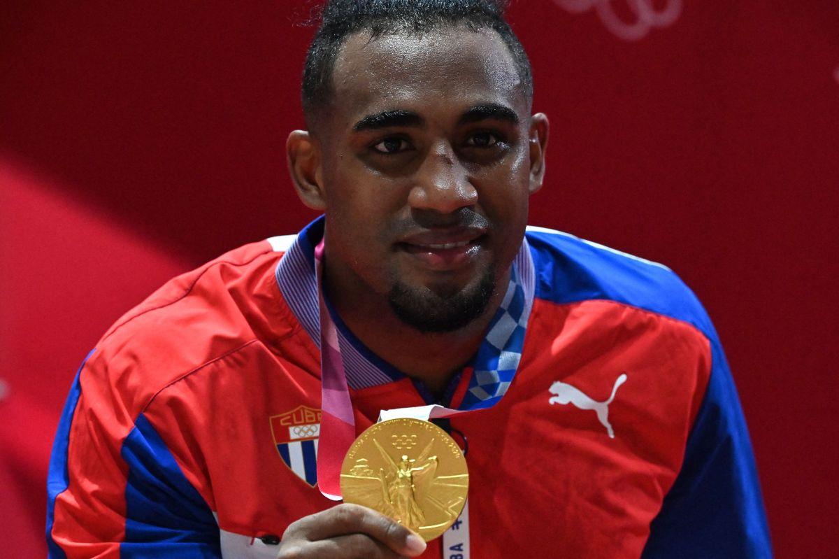 López aumentó la sumatoria de medallas doradas de Cuba en deportes de contacto en Tokio 2020.