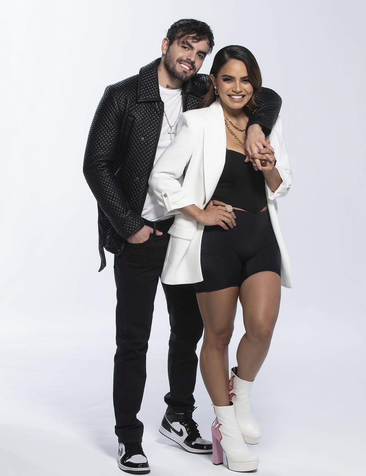Samadhi Zendejas y Adriano en 'Así se Baila'