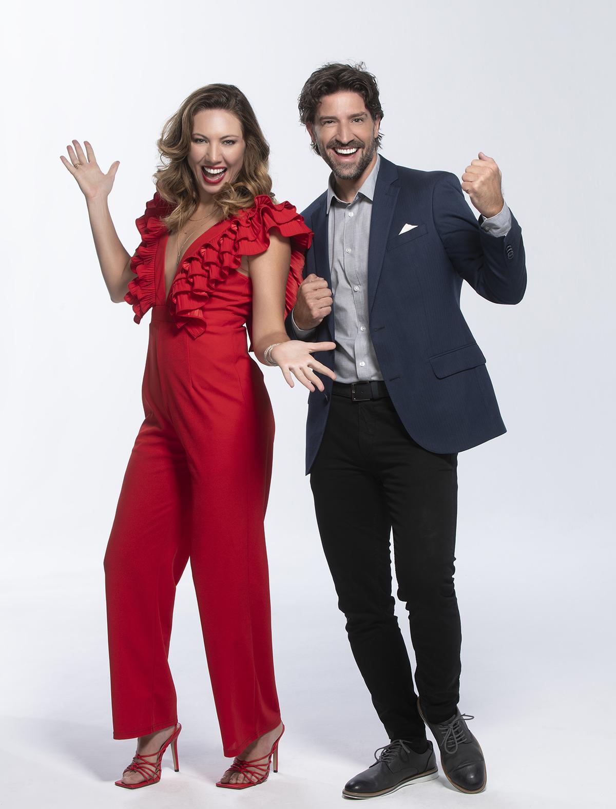 David Chocarro y Carolina Laursen participantes de 'Así Se Baila'