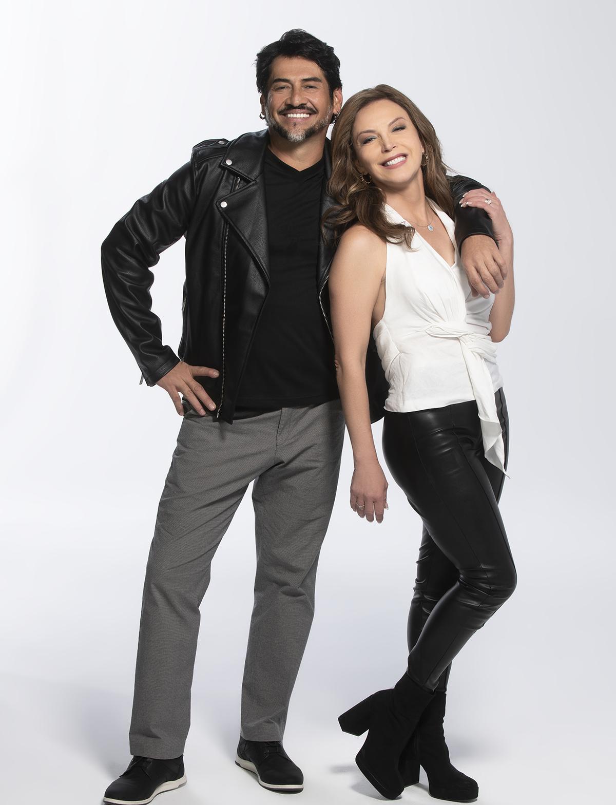Gabriel Porras y Laura Flores en 'Así se Baila'